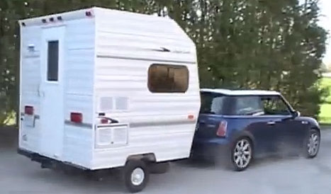 Perfect The Camper Trailer Weighs Only 850 Pounds And Pulls Easily A Nice Used Pull Behind