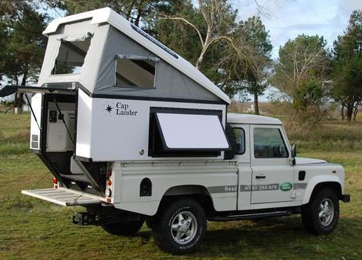 6 Top Slide Pop Up Truck Campers