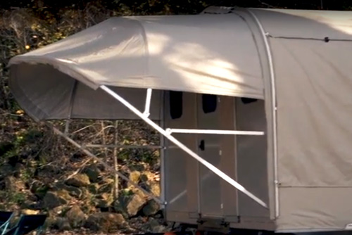 Awol Outdoors Camp365 Fold Out Travel Trailer
