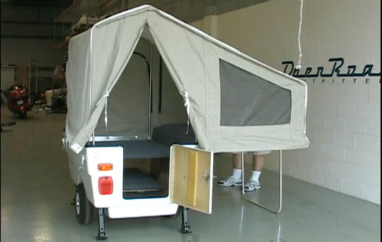 Used Motorcycle Camper Trailer For Sale