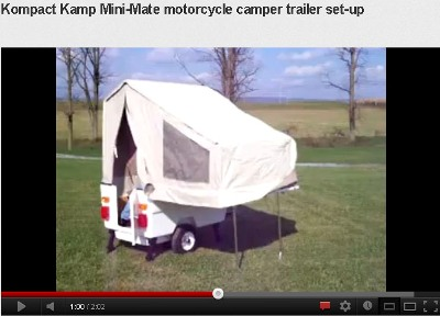mini-mate motorcycle campers. This small company from Myerstown (PA) ...