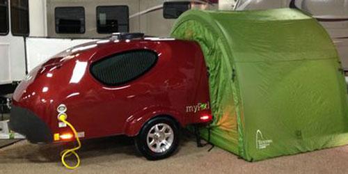 Mypod Travel Trailer Mini Campers