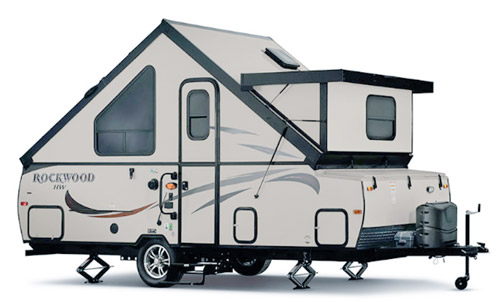 Rockwood A214HW Camper | A-Frame Travel Trailers