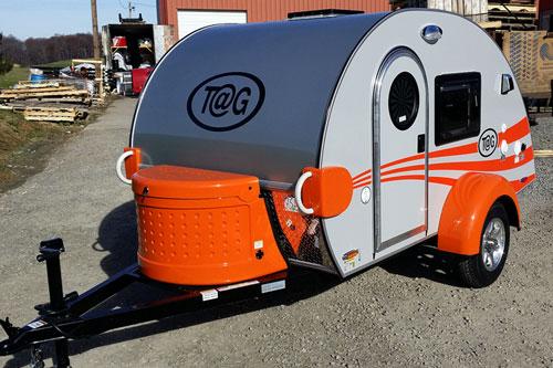 T@G Basic Teardrop Trailer | Mini-campers