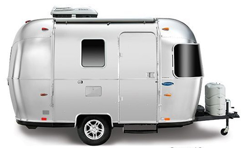 Airstream Bambi Travel Trailer Model Sport 16ft And Its Floorplan