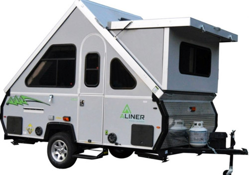 Aliner LXE Travel Trailer | 2017 A-Frame Campers