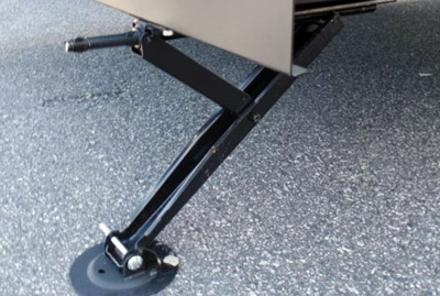 Travel Trailer Tongue Jack Pad