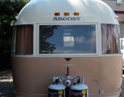Argosy Vintage Travel Trailers