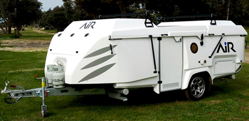 Travel Trailer Expandable Side