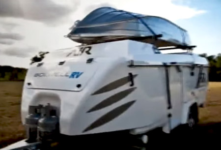 Bolwell Air Expandable Camper 2017 Hardside Popups