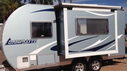 Ultra Lite Travel Trailers Under 3 000lbs