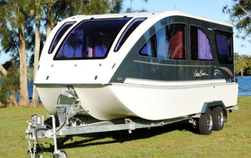 Caraboat Floating Travel Trailers