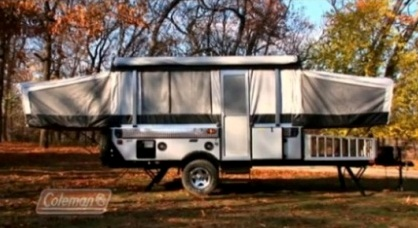Coleman Pop Up Campers Trailer