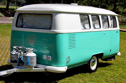 Dub-Box Retro Travel Trailer | Fiberglass Campers