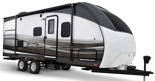 Here We Will Present The 2017 Model Of Ford 220RB Travel Trailer Its An Ultra Lite Camper With One Slide Out And Rear Bath Layout