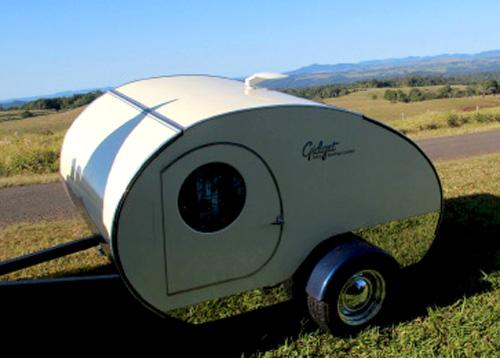 Gidget Brumby Off Road Teardrop Travel Trailer In Towing Configuration