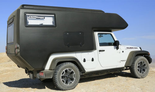 Jeep Wrangler Action Camper Go Anywhere Rvs