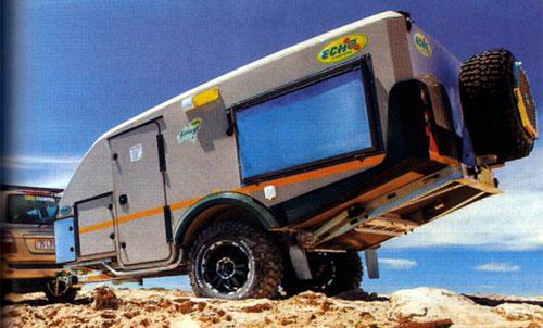 Kavango Xtreme Travel Trailer South African Echo 4x4 Rvs