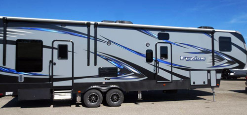 Fusion 325 Fifth Wheel Best 2017 Toy Haulers
