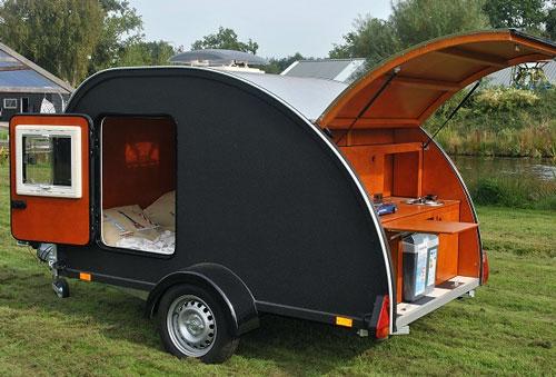 Kulba Teardrop Camper Mini Travel Trailers