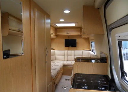 Mercedes Sprinter Camper Van And Its Luxurious Home Like Interior