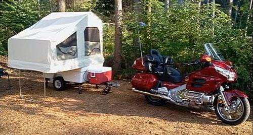 Mini-Mate motorcycle c&er & Motorcycle Tent Camper