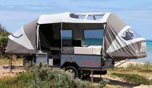 Opus Luxurious Pop Up Camper