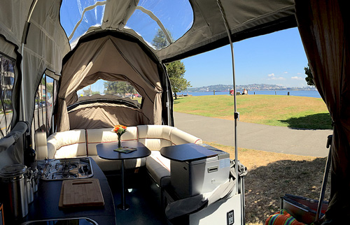 Opus Luxurious Pop Up Camper