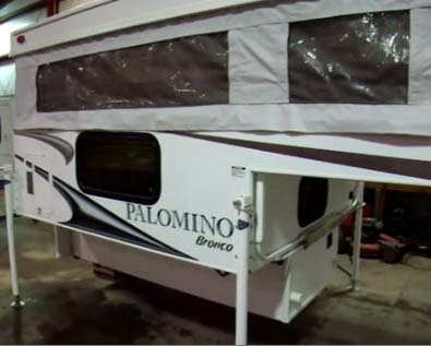 Pop Up Truck Camper Trailers