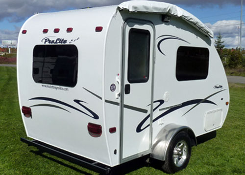 prolite eco12 travel trailer mini campers. Black Bedroom Furniture Sets. Home Design Ideas