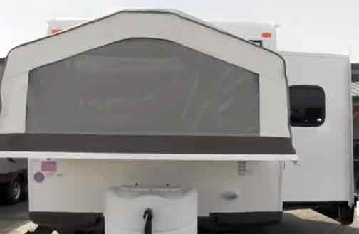 Rockwood Roo Hybrid Travel Trailer Has Bedrooms From Canvas But Also Luxury Of Large Living E With Slide Out