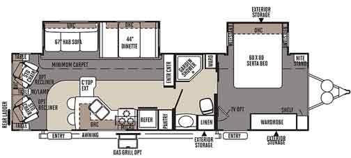 Photo : Puma Travel Trailer Floor Plans Images. Rv Floor Plans ...