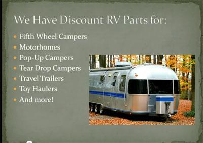 Pop Up Camper Replacement Parts