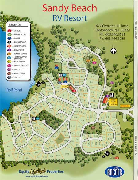 Directory Of Campgrounds New Hampshire Nh