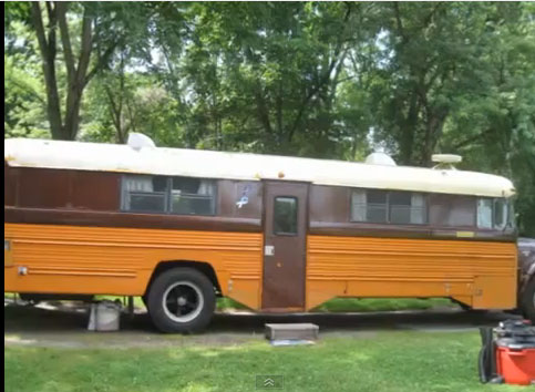 School Bus Camper