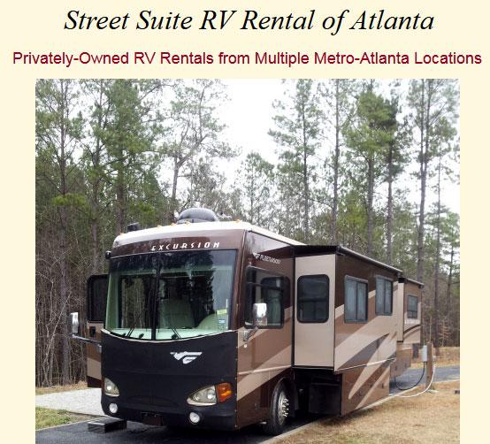 Street Suite RV Rental