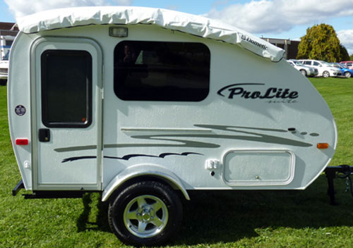 Suite Ultralight Travel Trailer Made By Canadian Company Roulottes Prolite