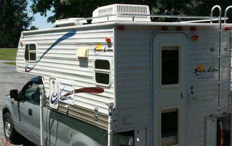 Aluminum Truck Campers