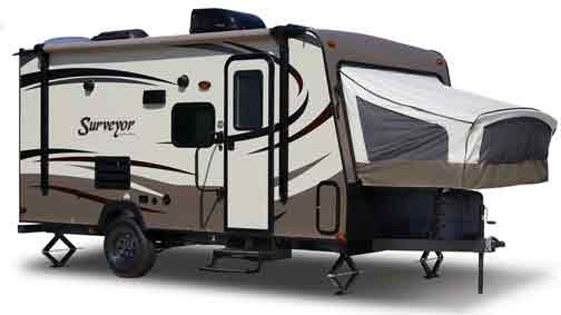 Surveyor Expandable Hybrid Travel Trailer By Forest River