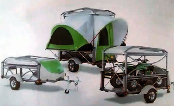 Motorcycle Tent Trailers For Sale