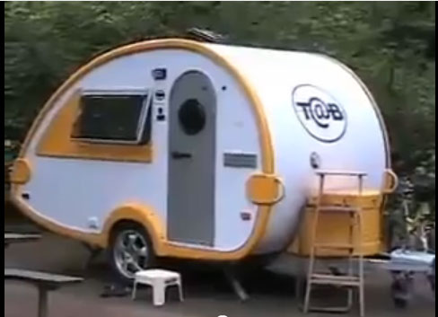 teardrop camper trailer. Black Bedroom Furniture Sets. Home Design Ideas