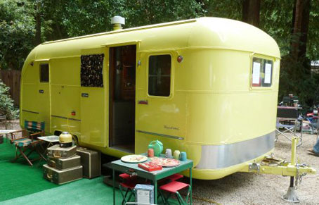 Popular Vintage Travel Trailers