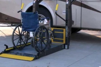 Wheel chair accessible motor home Wheelchair lift motor