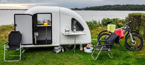 review of bicycles campers pull behind trailers. Black Bedroom Furniture Sets. Home Design Ideas