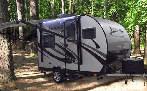 Livin Lite Camplite 11fk Small Travel Trailers