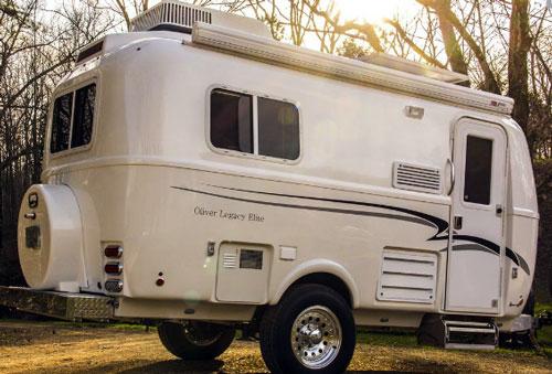 Ollie Legacy Elite Camper   Fiberglass Travel Trailers