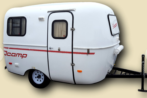 Small Travel Trailers: Scamp