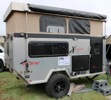 Innovative Offroad Tent Trailers Like The TerraDrop From Oregon Trailr Offer Many Of The Amenities Of Conventional RV Trailers But In A Compact Package  Among